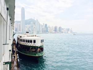 Star Ferry, the best and slowest way to Kowloon