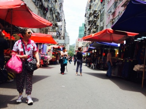 HK street market