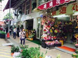 Outdoor Flower Market