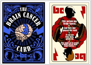 The BRAIN CANCER CARD
