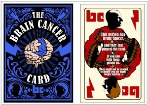 The BRAIN CANCER CARD