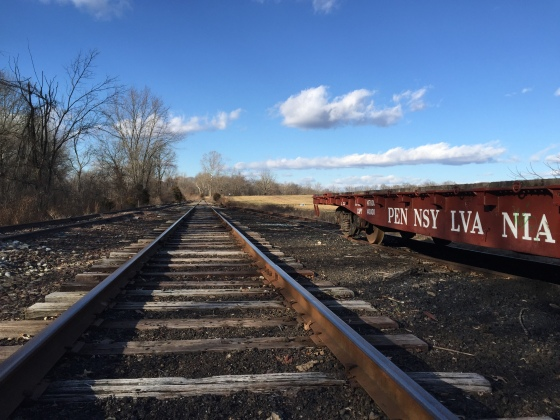 The Old Rushland Railroad