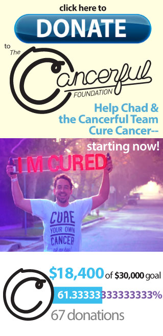please give, and help us cure Cancer!